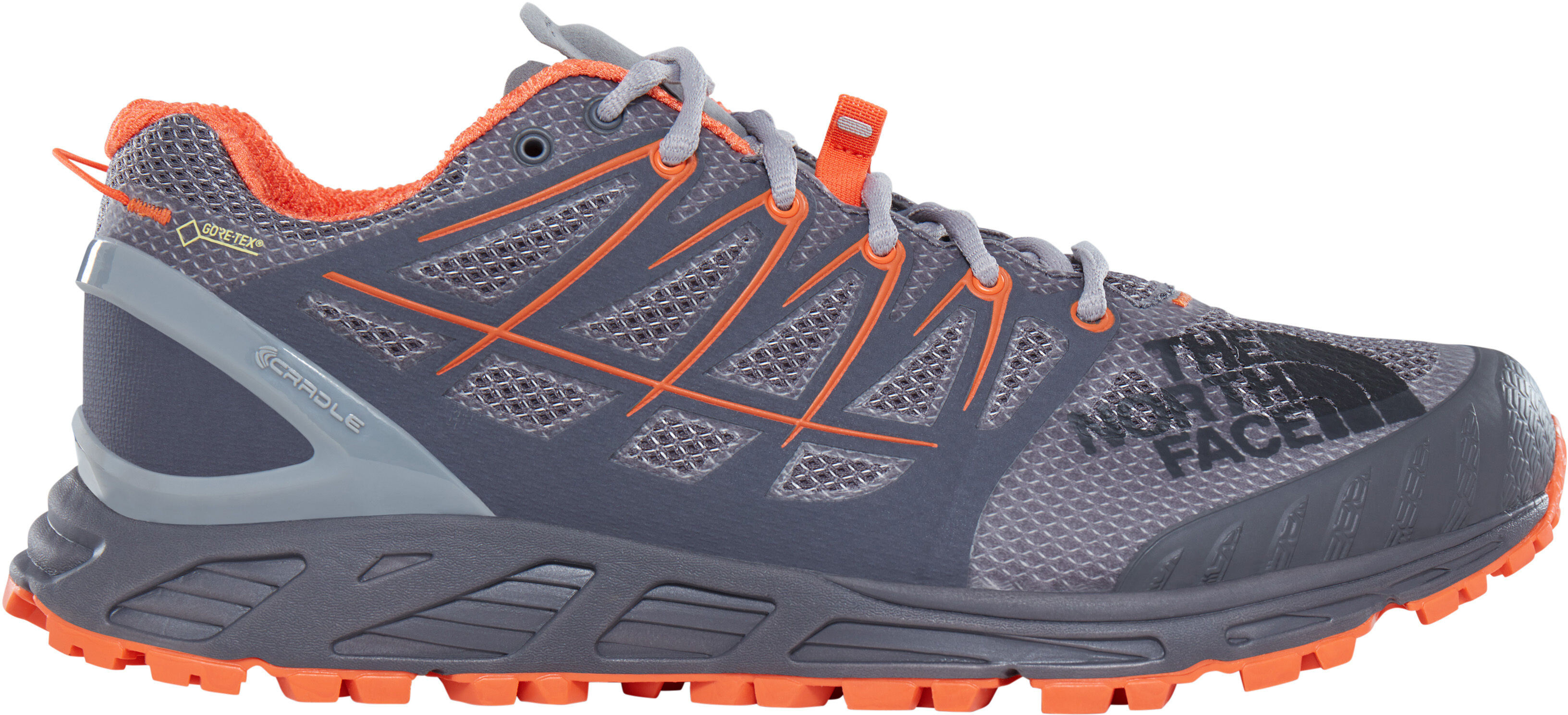 The North Face M s Ultra Endurance II GTX Shoes Blackened Pearl Scarlet Ibis 182ffb3c6